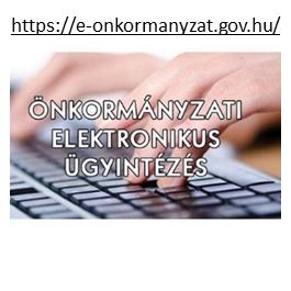 Önkormányzati elektronikus ügyintézés